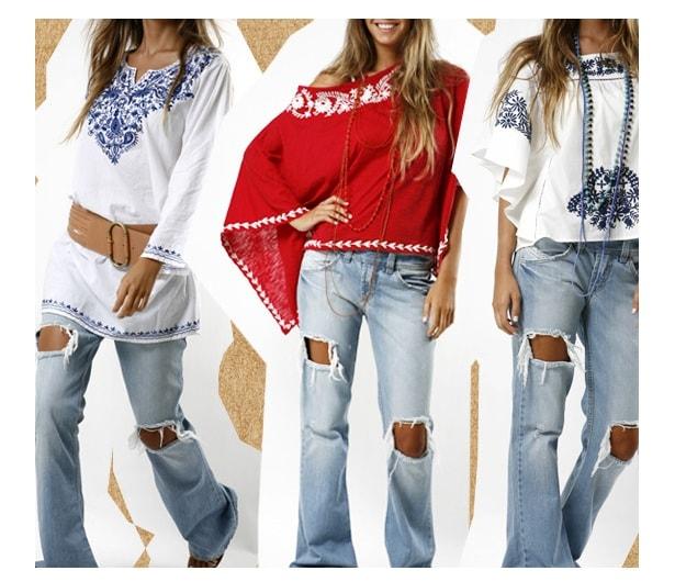 Moda Hippie Feminina 4 - Estilo Hippie: como usar