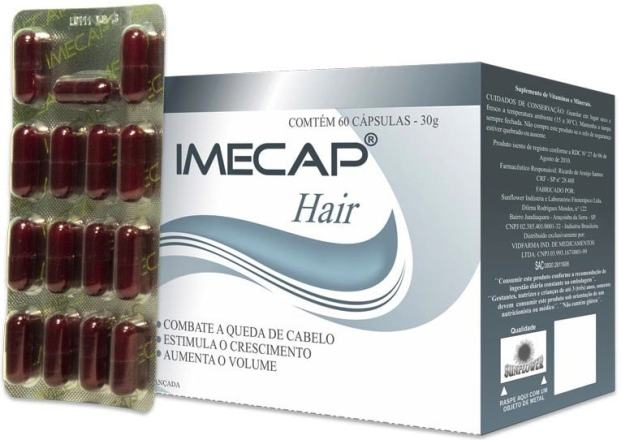 IMPECAP HAIR 1 - Imecap Hair – resultados e benefícios