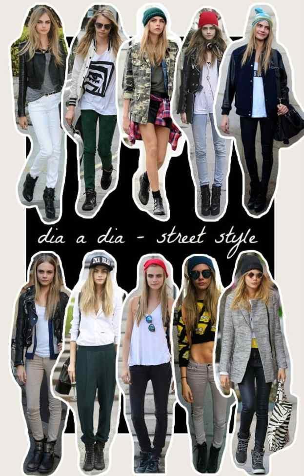 dani garlet cara delevingne get the look gtl modelo estilo luisa derner dia a dia street style2 - Street Style: Guia de estilo de rua