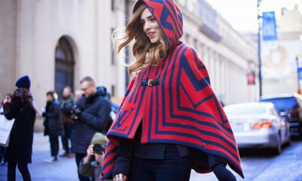 tendencia capas e ponchos 600x360 - Street Style: Guia de estilo de rua