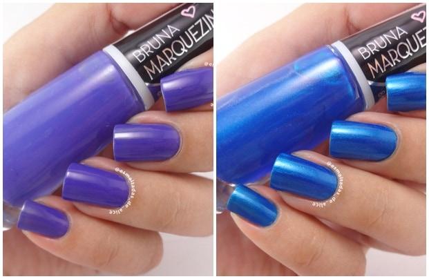 LILAC ATLANTICA - Esmalte Bruna Marquezine - cores sofisticadas e modernas