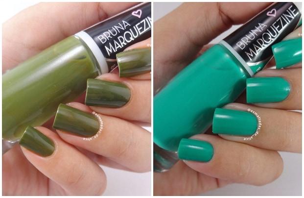 MUSGO E PLANTOC - Esmalte Bruna Marquezine - cores sofisticadas e modernas