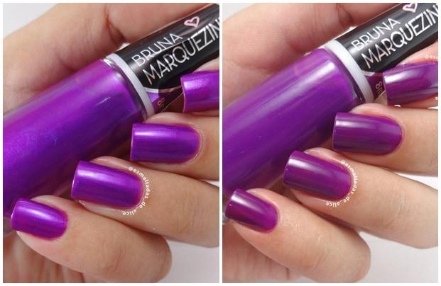 VIOLET LILAS - Esmalte Bruna Marquezine - cores sofisticadas e modernas
