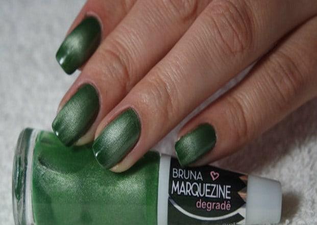 verde - Esmalte degradê Bruna Marquezine - cores incríveis