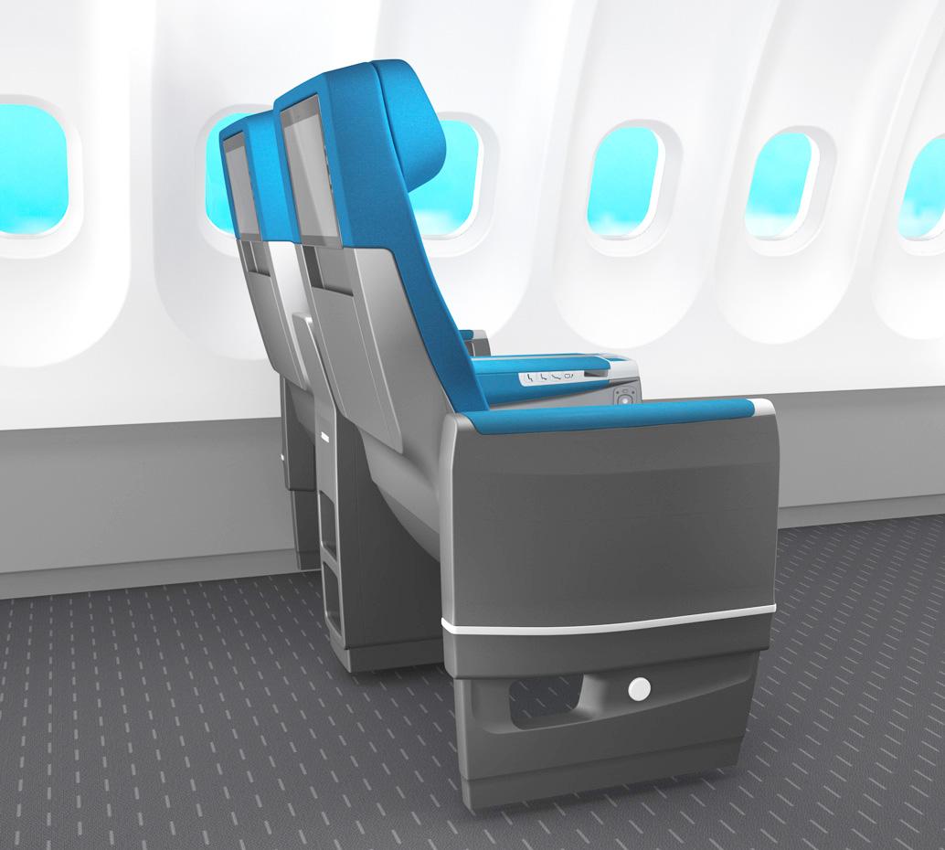 ZIM Flugsitz  Patrick Lindon Industrial Design