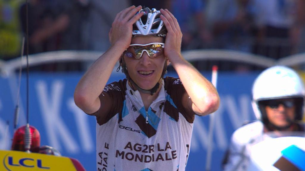 Romain Bardet wint achttiende etappe in de Tour de France
