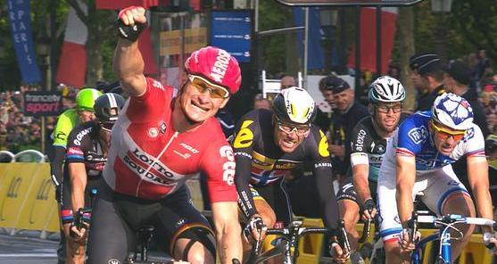Greipel wint op Champs-Élysées | Tour de France 2015