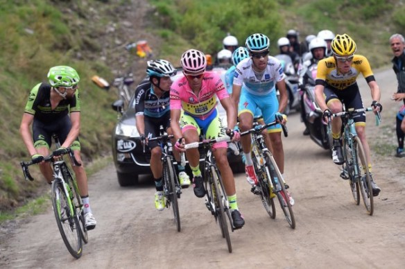 Favorieten in Giro 2015
