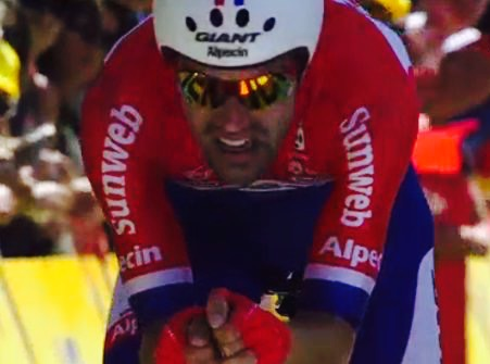 Tom Dumoulin wint tijdrit | Tour de France 2016