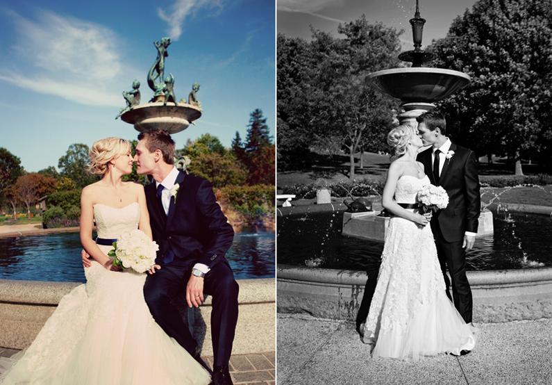 Lyndale Rose Garden - Minneapolis Wedding Photography