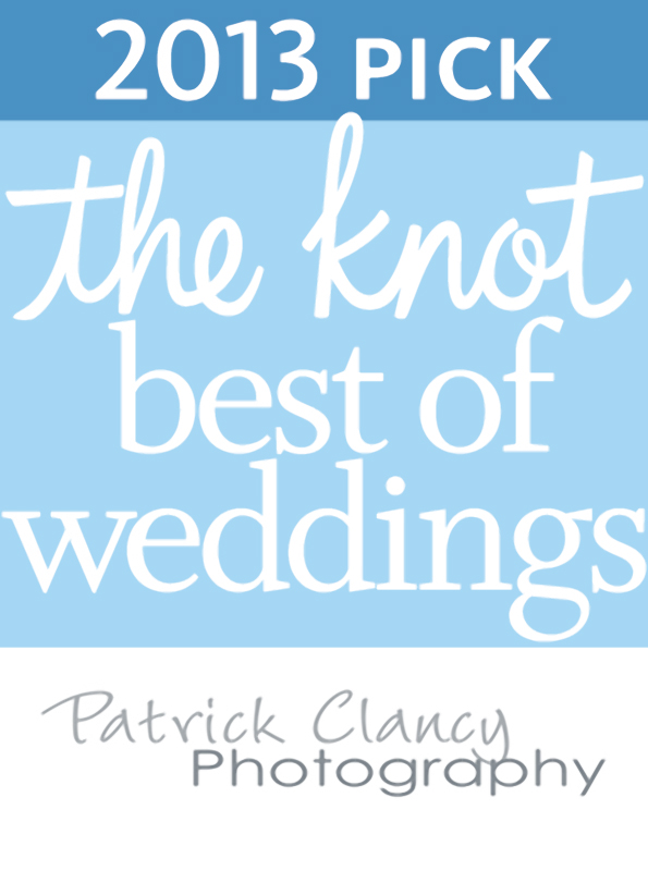 The Knot Best of Weddings 2013 Patrick Clancy Photography