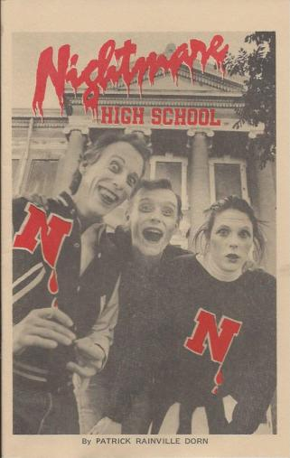 Nightmare High School Cover