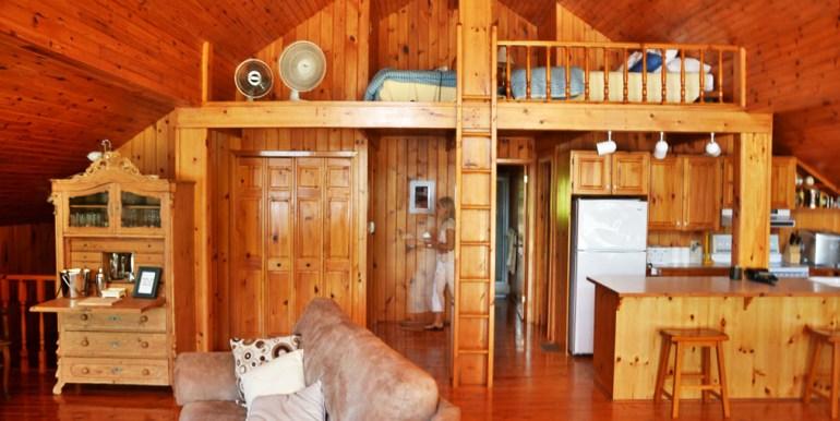 Boathouse living area