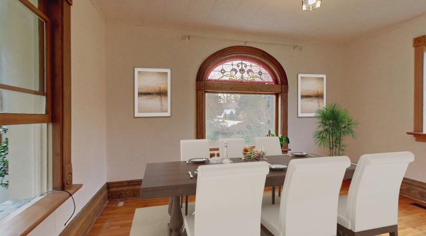Virtually Staged Dining Room - 135 Matilda