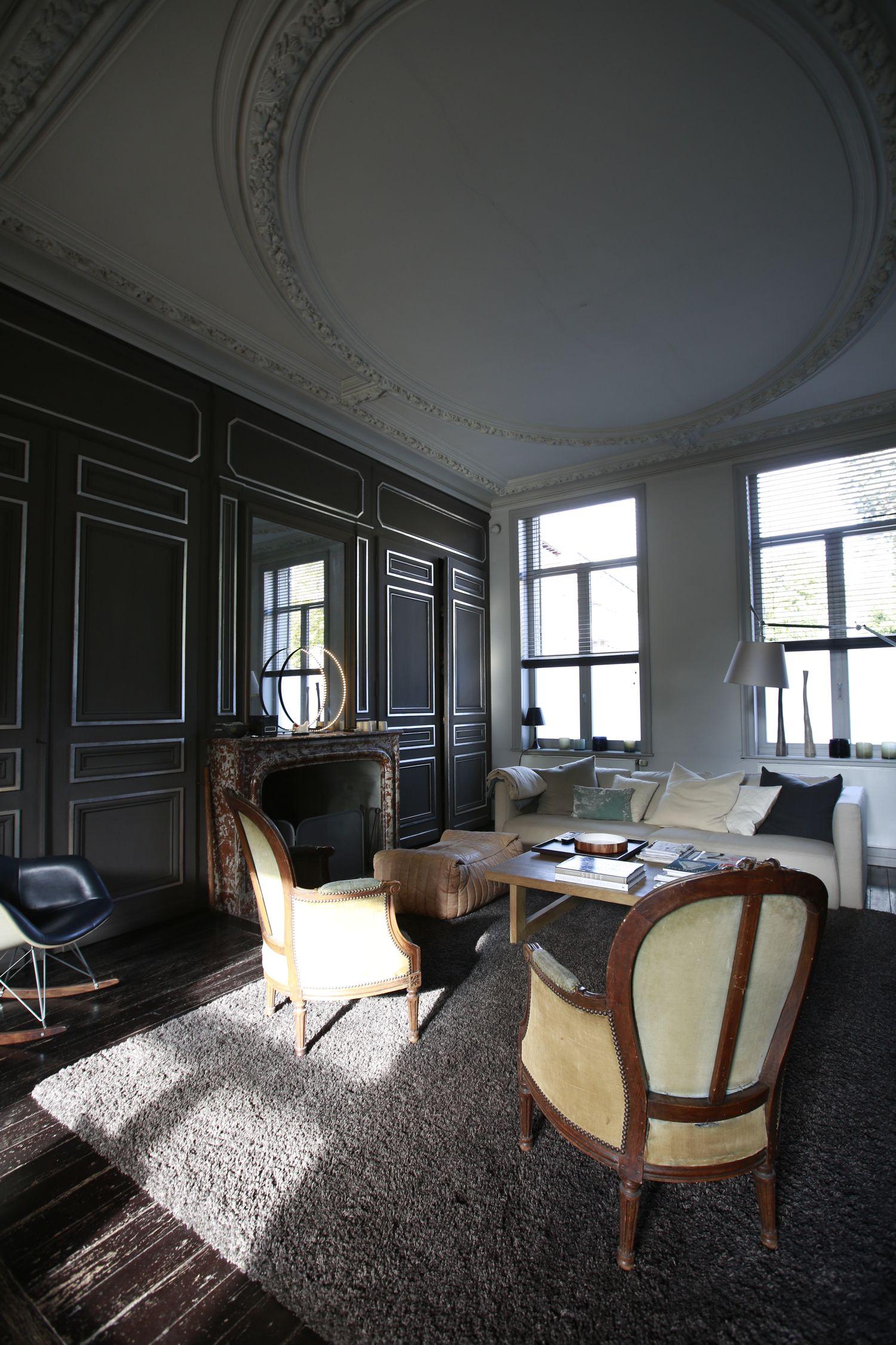 Une maison bourgeoise 19me sicle  Patrick Geffriaud Design
