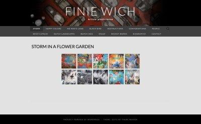 Finie Wich - Artiste plasticienne