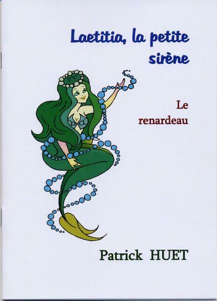 Laetitia la petite sirène et le Renardeau, conte pour enfants