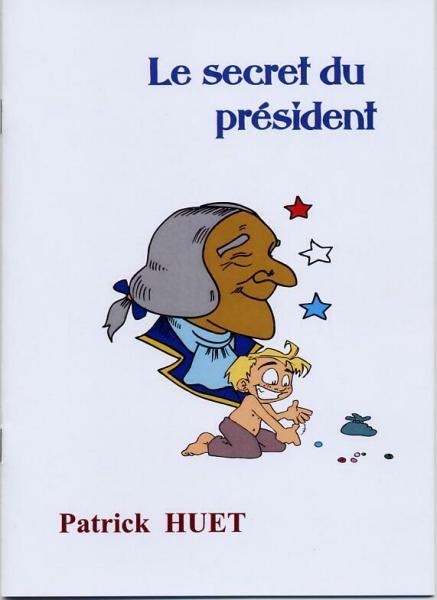 Le Secret du président, couverture du livre