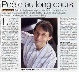Magazine Lyon citoyen, article sur Patrick Huet