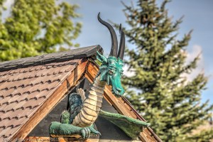 Dragon in the town of Joseph