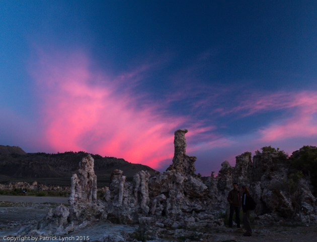 Sunset over Mono Lake
