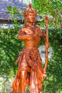 Another character from the Ramayana, as depicted in Bali