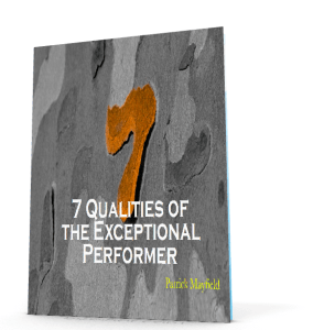 7 Qualities of the Exceptional Performer - 3D Cover
