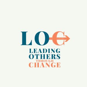 Leading Others through Change Logo