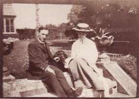 George and Kittie Calderon 1905