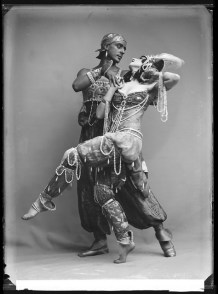 "Michel and Vera Fokine in ""Scheherazade"", 1914"