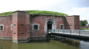 The entrance to Fort Brockhurst (picture from Britain's Past)