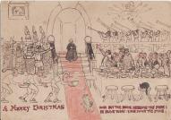 Christmas 1901 Cartoon