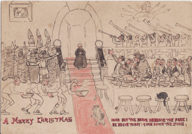 Christmas 1901 Cartoon