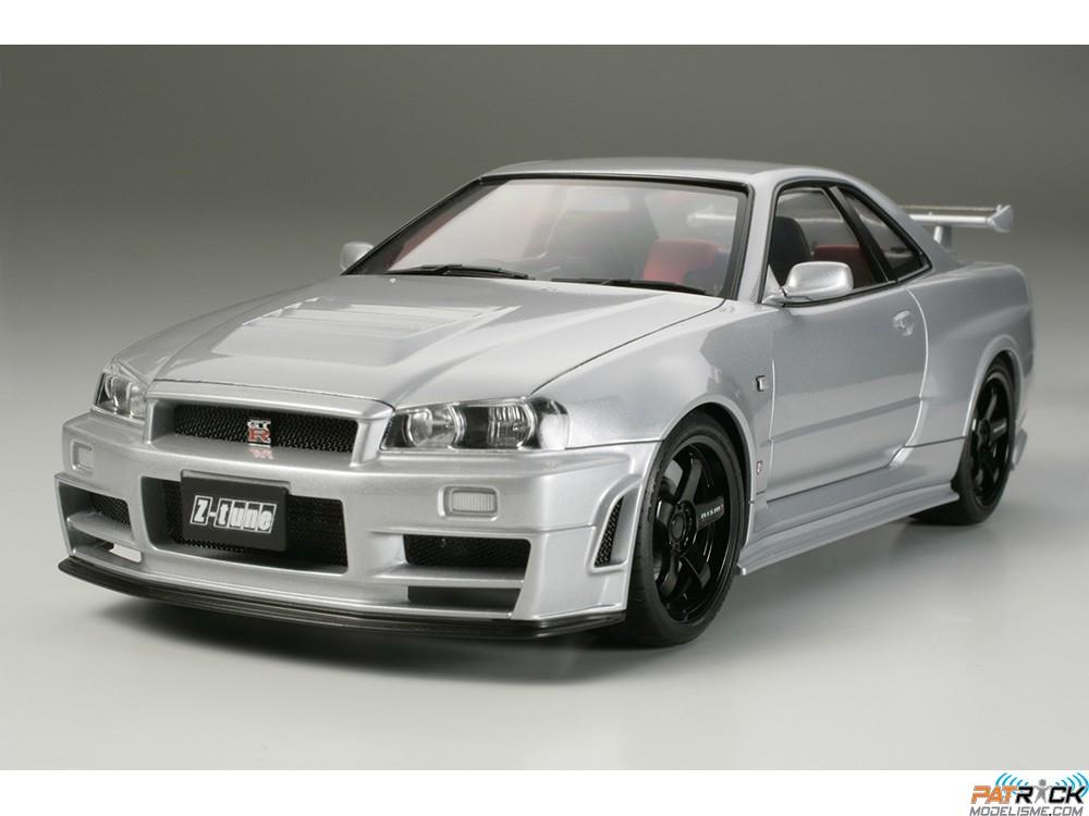 1/24e Tamiya Nissan Nismo R34 GT-R Z-tune