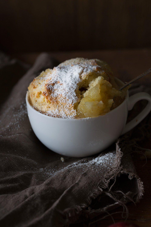 Apfel- Biskuit-Pudding