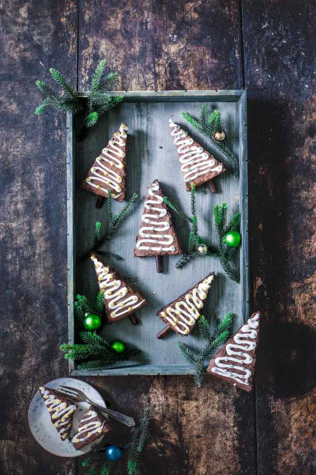 Tannenbaum Brownies