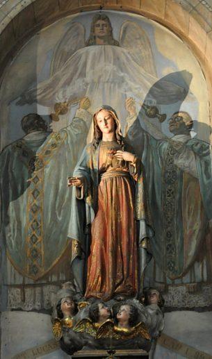 Therese Statue Saint Avila