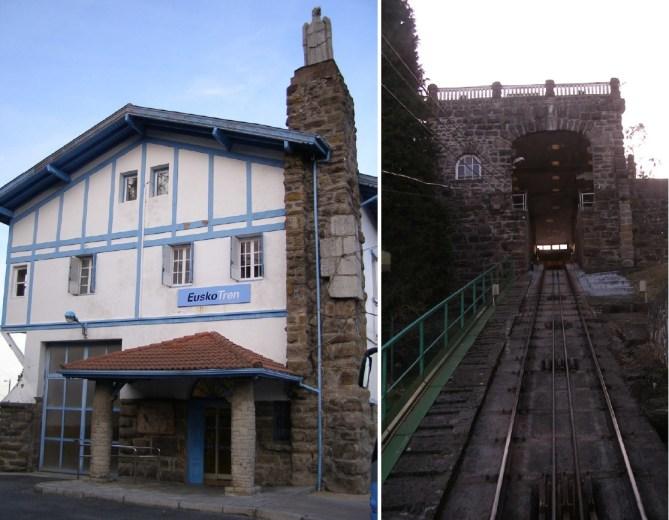 Funicular de La Reineta. Estación superior. (Fotos: BOPV)