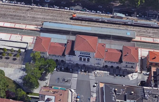 Vitoria-Gasteiz. Estación de ferrocarril de la calle Dato.