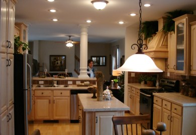 Kitchen Great Room Designs