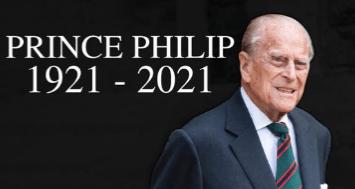 Death Of HRH  Prince Philip Duke Of Edinburgh