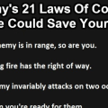 Murphy's 21 Brutal Laws Of Combat From Actual Soldiers:  13 Is Particularly Important