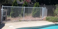 Pool fencing provides a layer of protection to keep children from gaining access to the pool without a supervising adult.