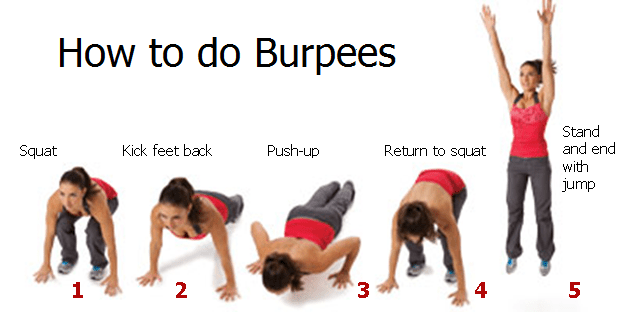 Burpee Modifications