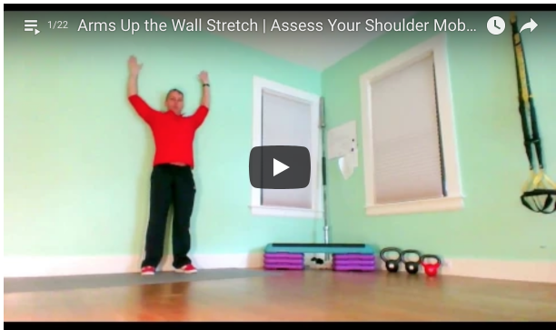 Fix Your Upper Back | Arms Up The Wall Stretch