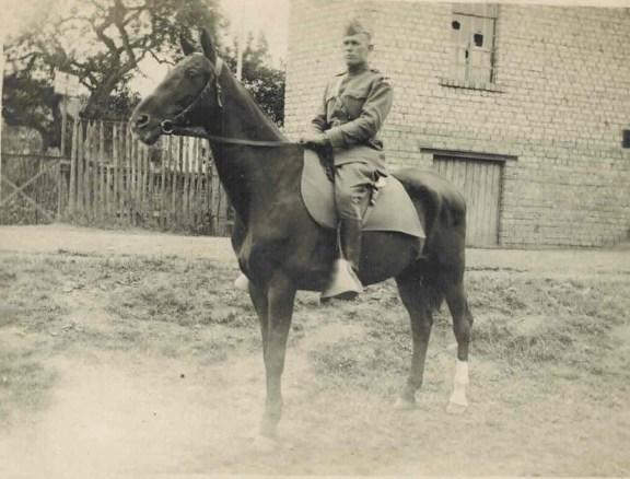 Lt. Glenn A. Ross, Second Division, (c 1919)