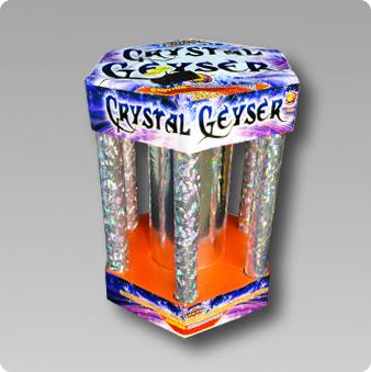 Patriotic Fireworks  Crystal Geyser  500 Gram Fountain