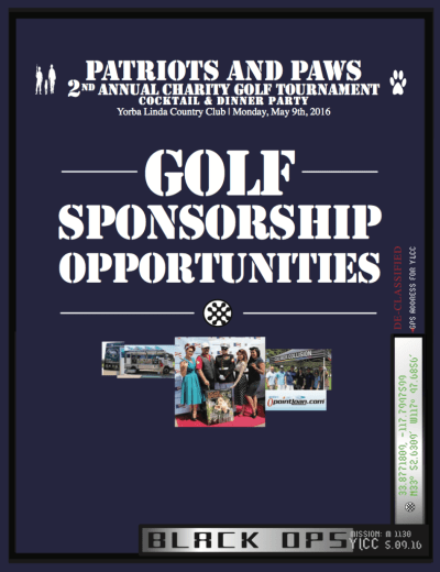 2016 Sponsorship Opportunities