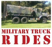 MILITARY TRUCK RIDES