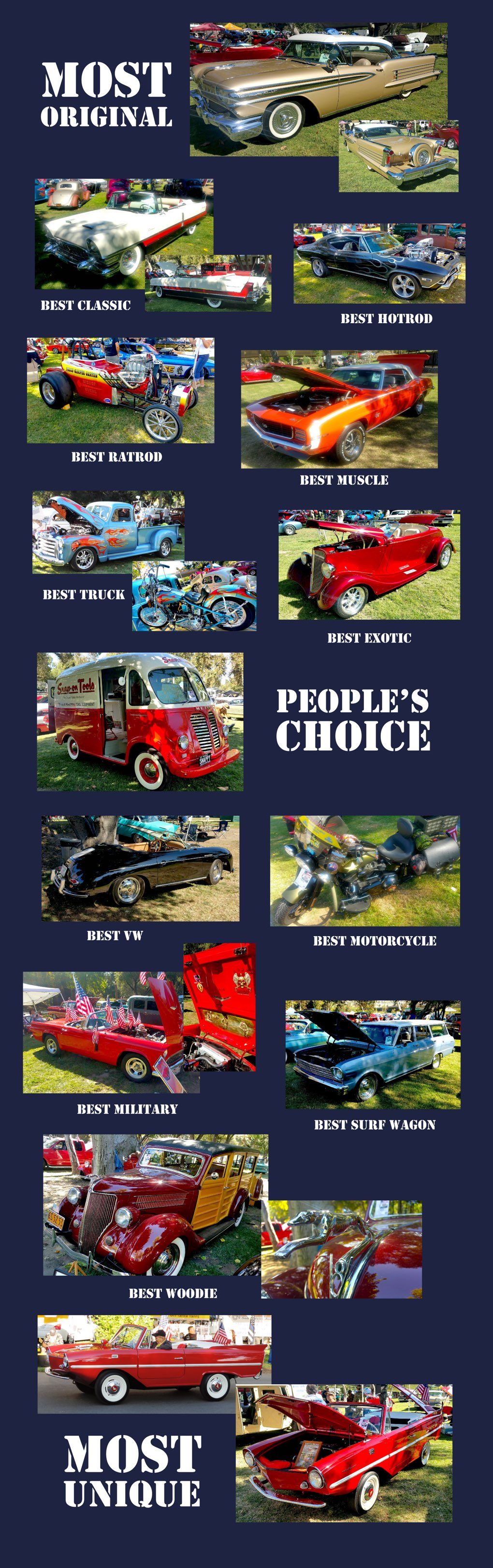 2017 Car Show Winners